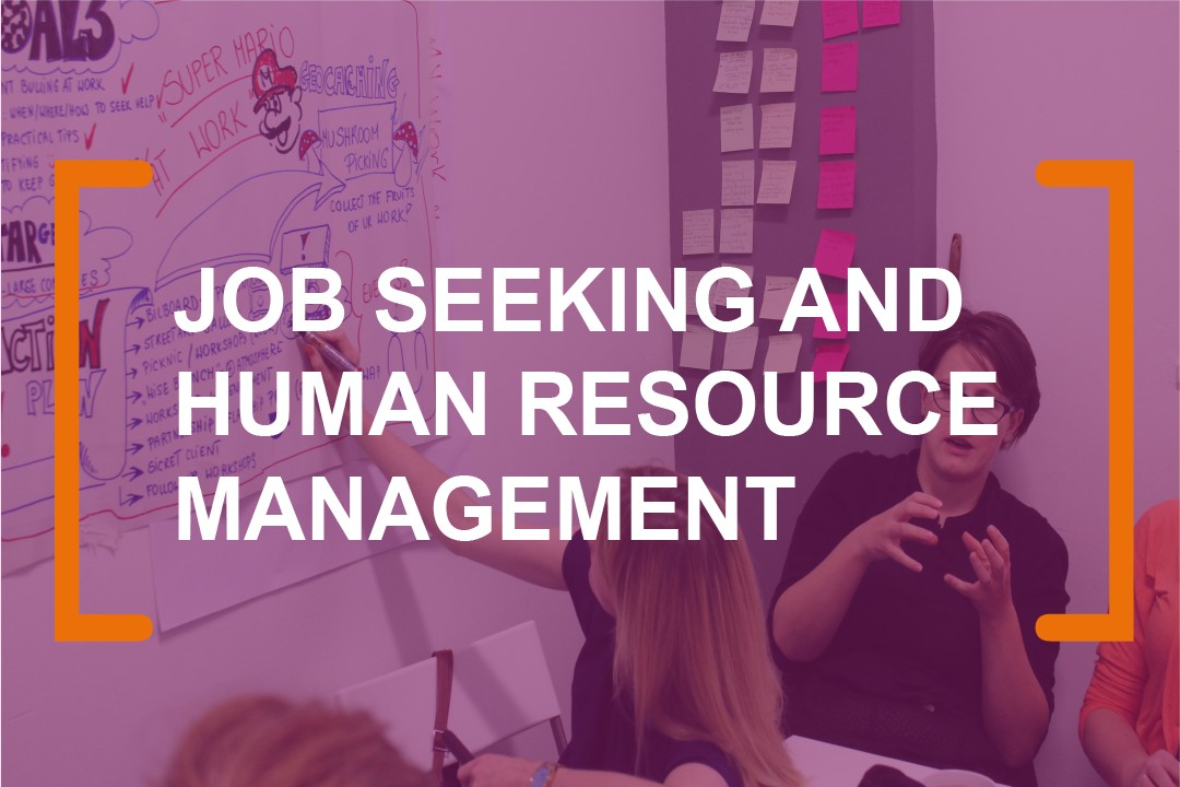 Job-seeking-and-human-resources-management with brainup lab
