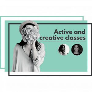 active and creative classes online course